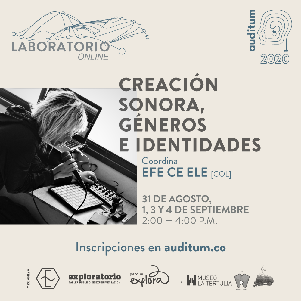 01 LABORATORIO Creación sonora, géneros e identidades